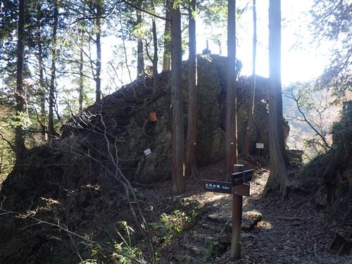 御岳山18岩