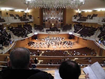 20161231ジルべすたーコンサート開演前