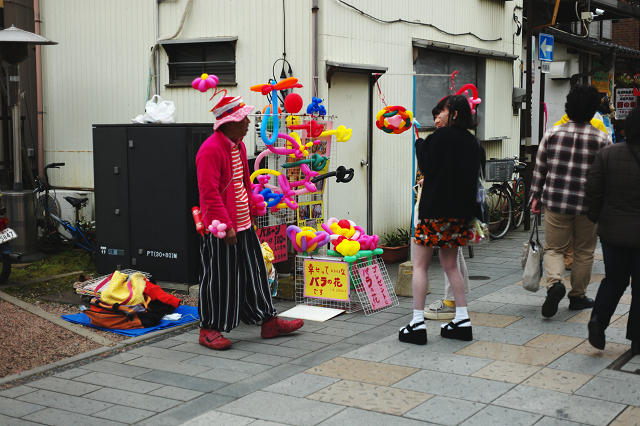 Aporodagon5028と川越駄菓子屋横丁