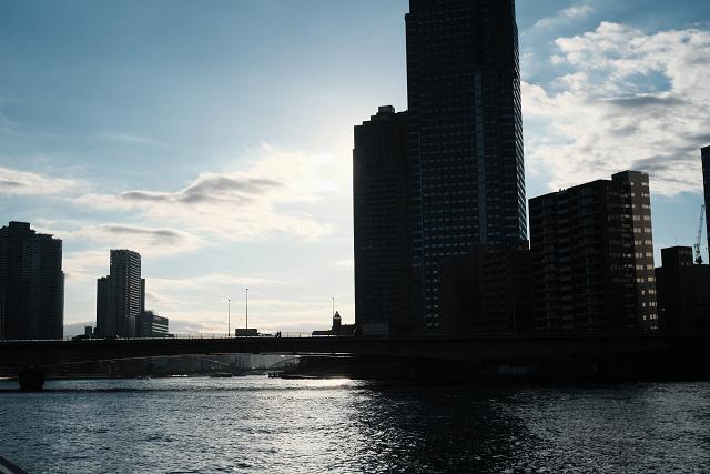 Cine-Xenon2820と佃島