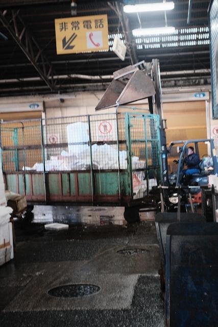 W-NIKKOR3525と築地場内市場