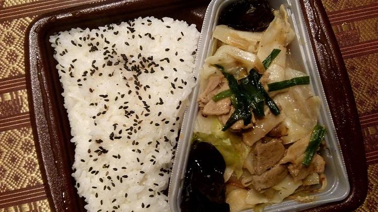 日本のコンビニ弁当