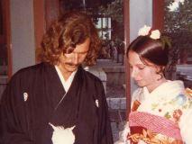 マイケル・フランクス氏、日本で挙式