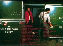Billy Joel_Songs From The Backyard (1980-1981 Tour ) ジャケット裏