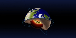 Jet stream in the Earth's core