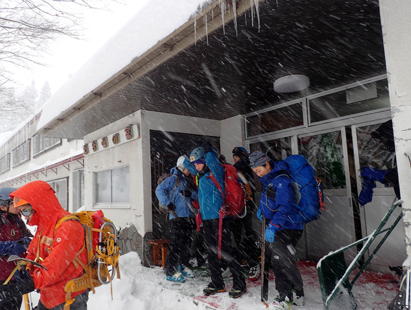 関東ブロック雪崩 初日(2)