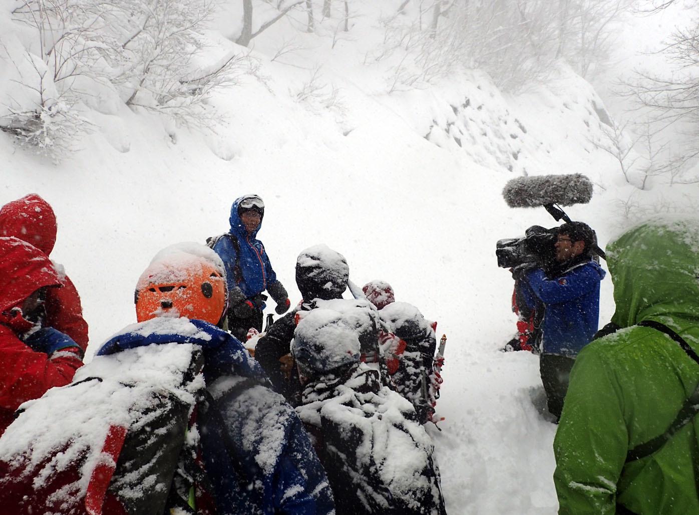 関東ブロック雪崩 初日(5)