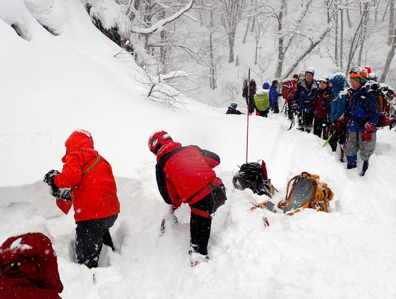 関東ブロック雪崩 初日(6)