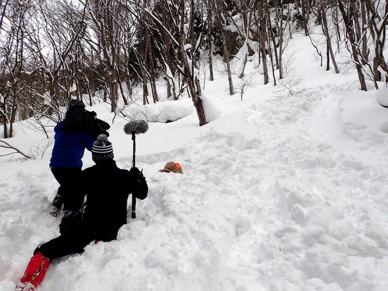 関東ブロック雪崩 初日(13)