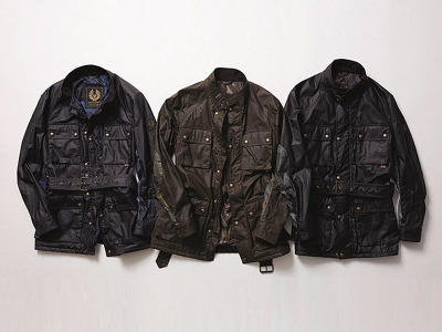 BELSTAFF-SOPHNET-WAXED COTTON-ROAD-MASTER