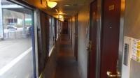 小坂ブルートレインあけぼの11A寝台シングルDX廊下