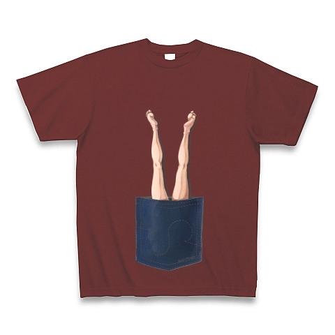 ポケットからセクシーな脚が出ているよ その1 Tシャツ