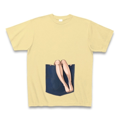 ポケットからセクシーな脚が出ているよ その6 Tシャツ