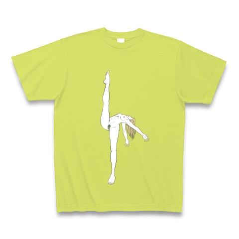 右足を上げていけ Tシャツ