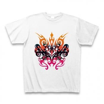 怒りのトライバル デザインバージョン Tシャツ
