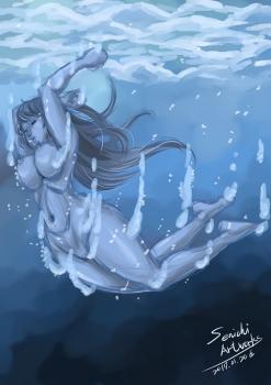 青の世界へ潜る