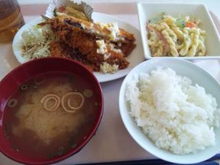 神戸学院 学食 20161207