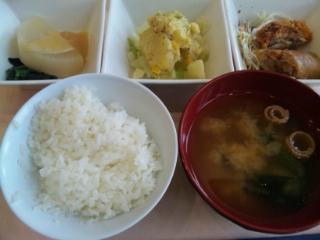 神戸学院 学食 20161222