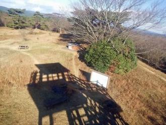 展望台からの山頂」