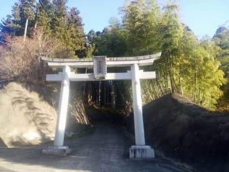 武生神社の鳥居
