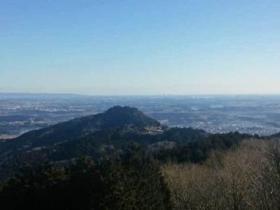 展望台からの愛宕山