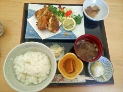 カジカフライ定食
