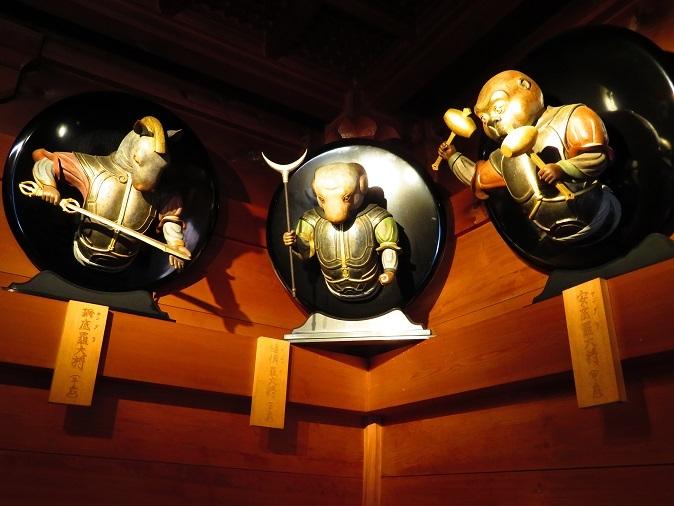 播州清水寺薬師堂十二神将像