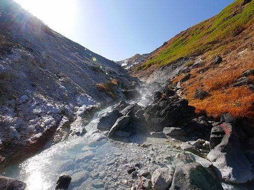 硫黄取り沢の湯