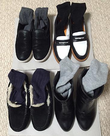 靴と靴下に合う、冬の足元コーデを探してみた。