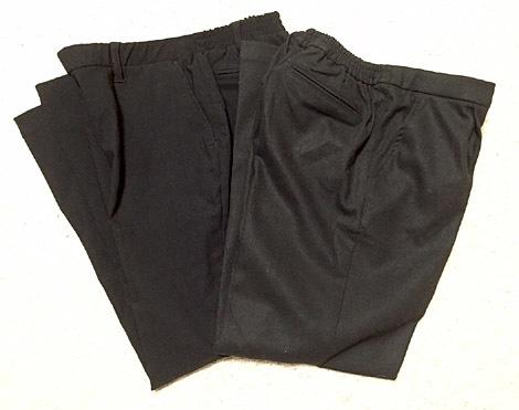 黒の綺麗め裏起毛パンツをゲットしました!