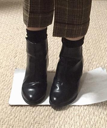 ショートブーツ&靴下、最強!