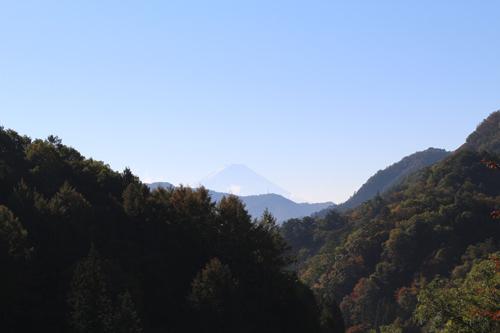 20161103 金櫻神社からの富士山