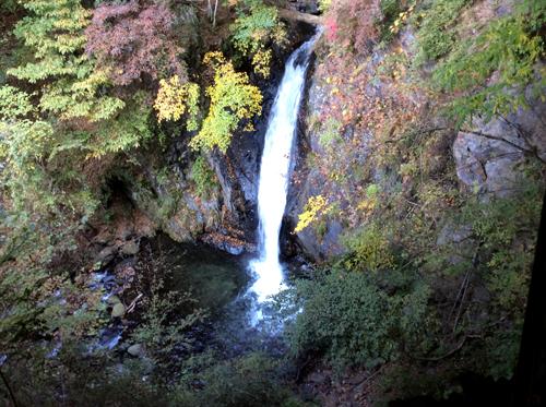 20161106白髪の滝