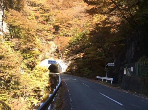 20161113 板敷渓谷入口