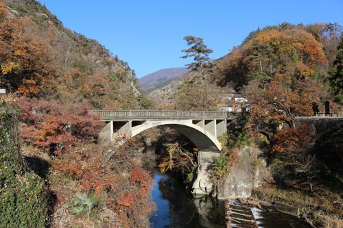 長瀞橋12月3日