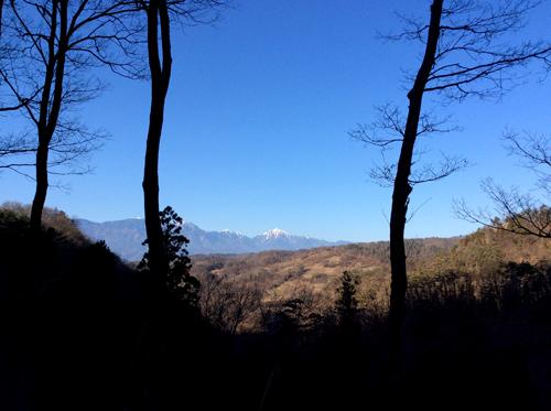 甲斐駒ヶ岳20170107