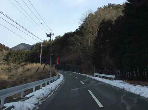 20170115清川経由昇仙峡道路 (2)