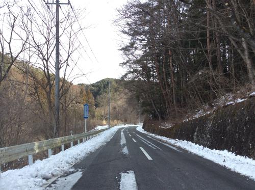 20170115清川経由昇仙峡道路 (1)