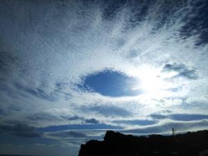 綺麗な雲(2017/1/2)