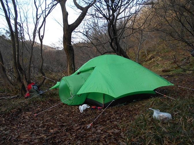 5 林間の快適テント