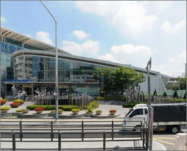ソウル駅西側