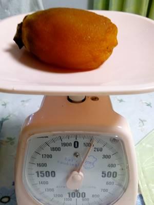 干し柿 重さ
