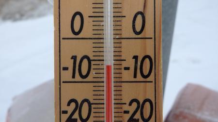 2015年2月28日 07時39分 剣山スキー場で-6度