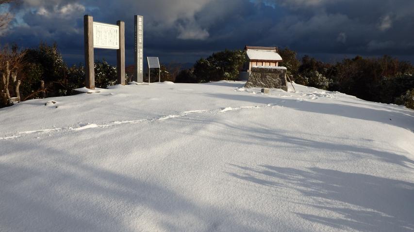 諭鶴羽山の山頂