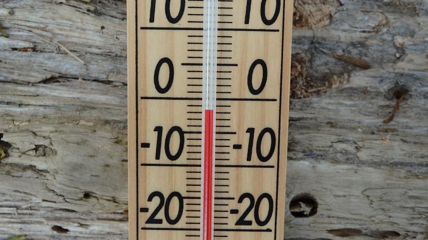 07時37分に氷点下1度か2度程度。