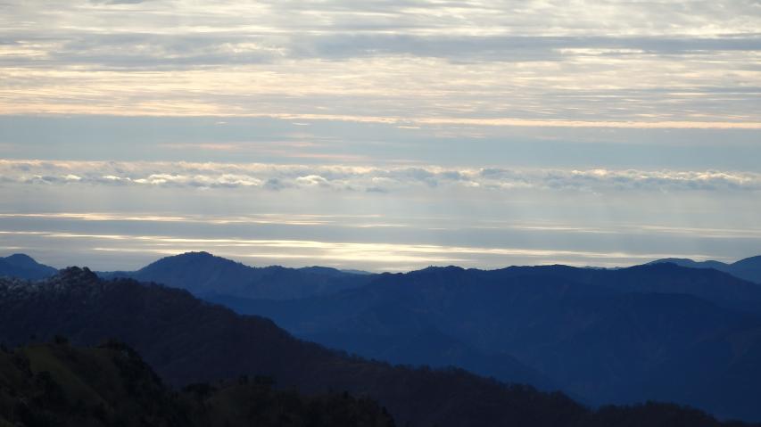 太平洋が見えています