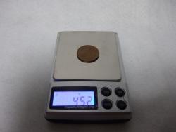 デジタル秤10円玉その1