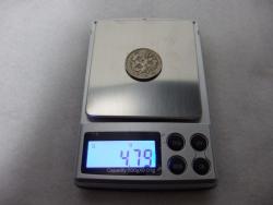 デジタル秤100円玉その2
