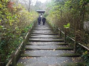 鎌倉石の参道
