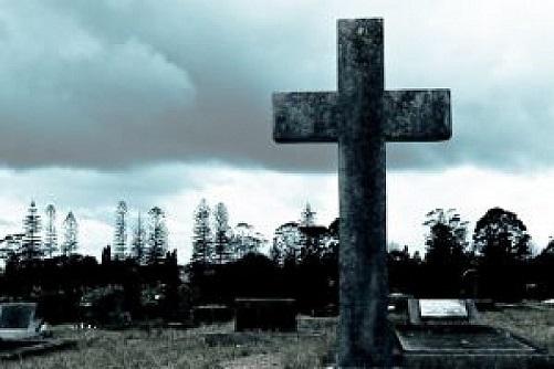 フリー画像墓場